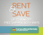 Rent Your Textbooks with RentBack and Campus Book Rentals