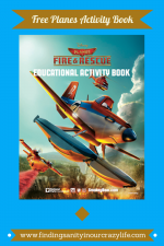 Planes: Fire and Rescue Activity Book