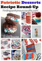 Patriotic Desserts Recipe Round-Up
