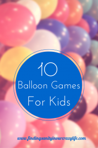 10 Fun Balloon Games For Kids