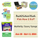 Back2School Bash Kids Have 2 Eat Giveaway