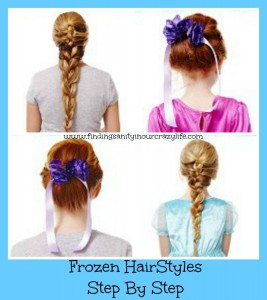Frozen Hairstyles Step By Step