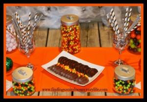 "A ""Sweet"" Halloween Candy Display with SweetWorks Candy"
