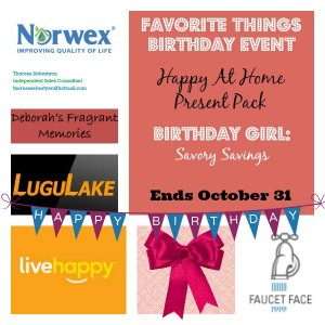 Favorite Things Birthday Event Giveaway
