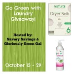 Go Green with Laundry Giveaway