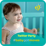 Pampers Baby Got Moves Twitter Party