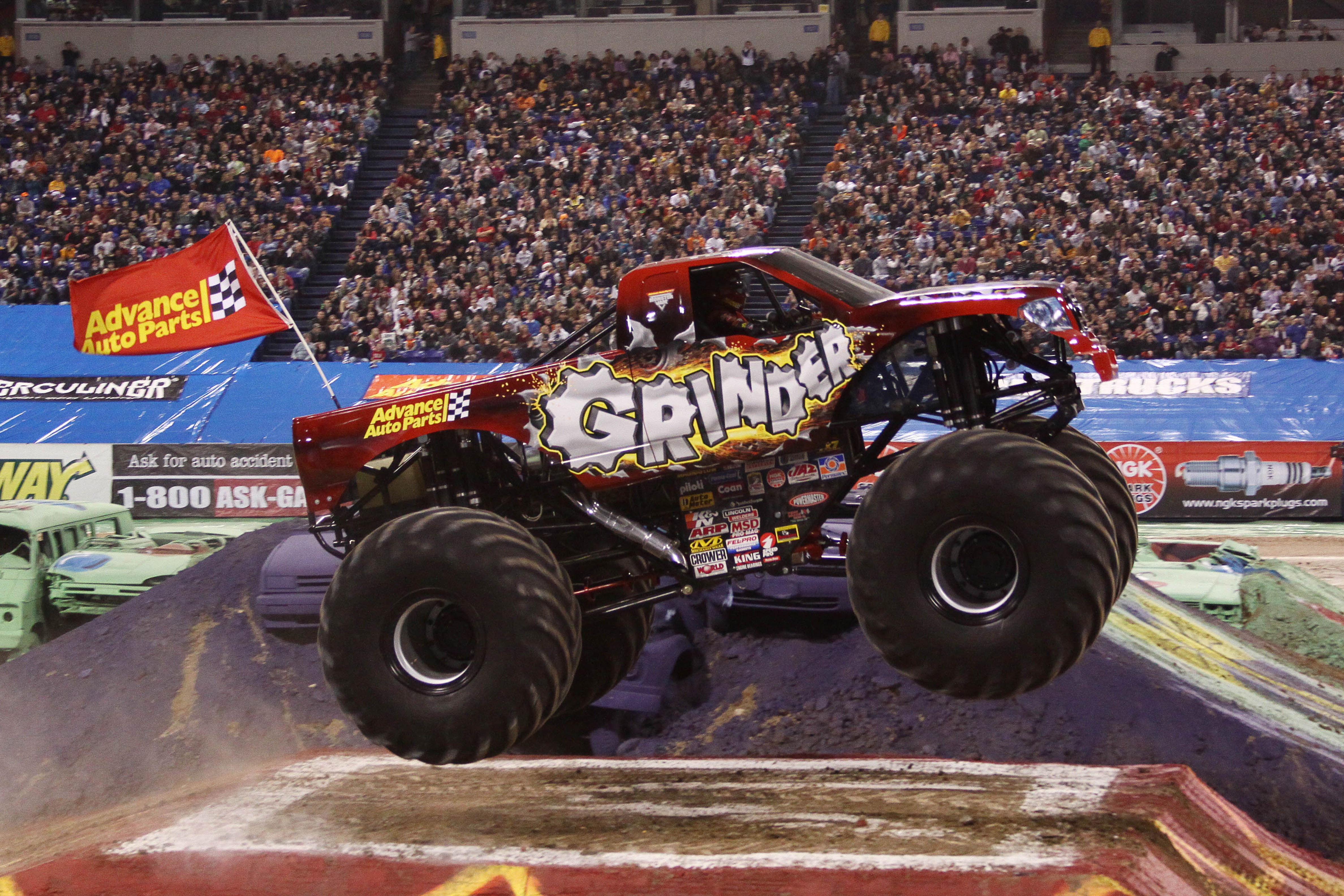 Monster Jam Is Coming To Ford Field 2015 Finding Sanity