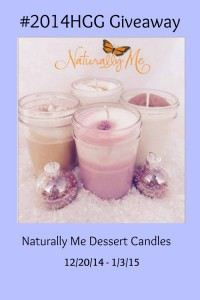 Naturally Me Dessert Candles Giveaway #2014HGG