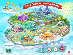 Spread Holiday Cheer with Care Bears Advent Calendar