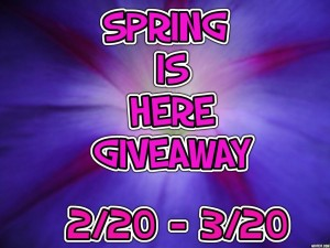 Spring is Here Giveaway
