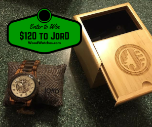Jord Wood Watches Giveaway #2015HGG