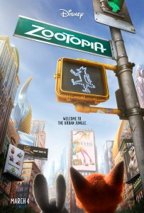 Disney's Zootopia Coming to Theaters March 2016