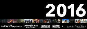 2016 Release Schedule For Walt Disney Studios Motion Picture