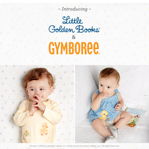 Gymboree Little Golden Books Collection & Sweepstakes