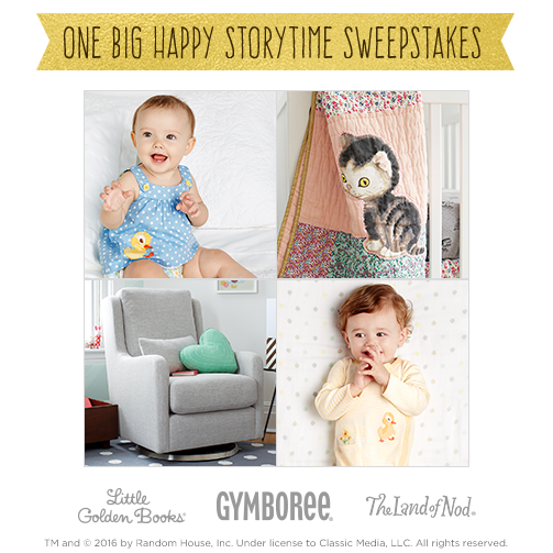 Gymboree and Little Golden Books Giveaway