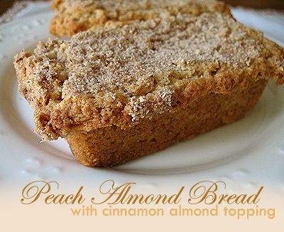 Peach Almond Bread