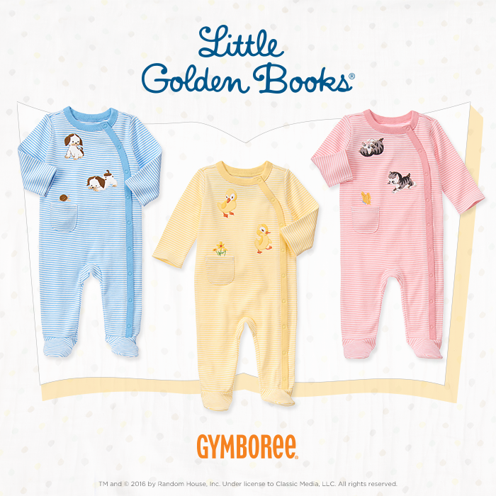 Shop the Gymboree Little Golden Books Collection
