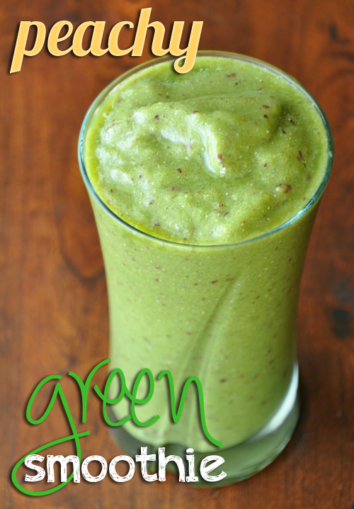 peachy green smoothie title 500