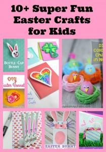 Super Fun Easter Crafts For Kids
