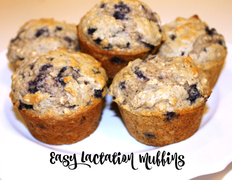 Easy Lactation Muffins