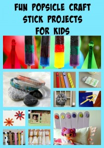 Popsicle Craft Stick Projects For Kids