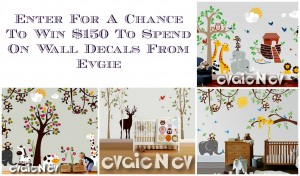 March Evgie Wall Decals Giveaway