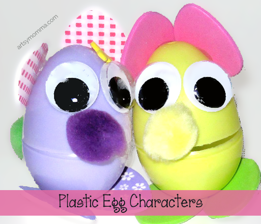 Plastic-Egg-Characters-Easter-Craft-for-Kids