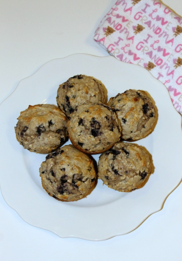 Simple Lactation Muffins