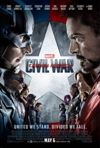 Captain America: Civil War Now in Theaters