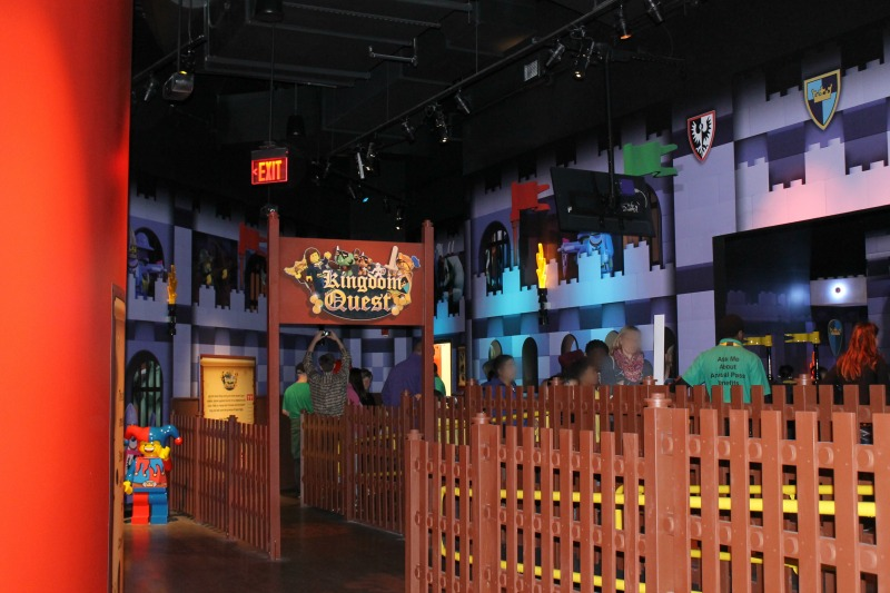 Kingdom Quest Entrance at LEGOLAND Discovery Center