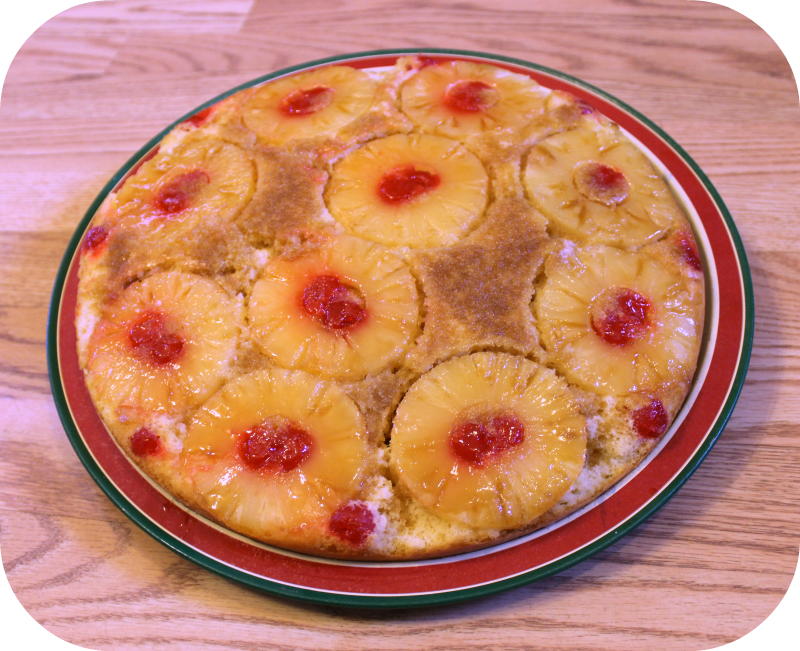 Skillet Pineapple Upside Down Cake - Finding Sanity in Our Crazy Life