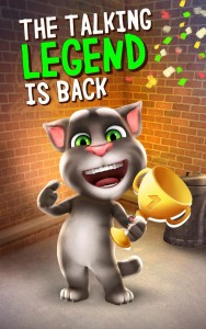 Talking Tom Cat Returns Better Than Ever