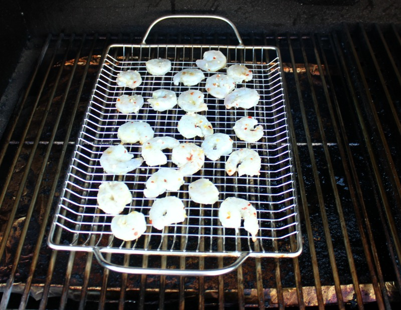 Grilling Shrimp for Grilled Shrimp Appetizer