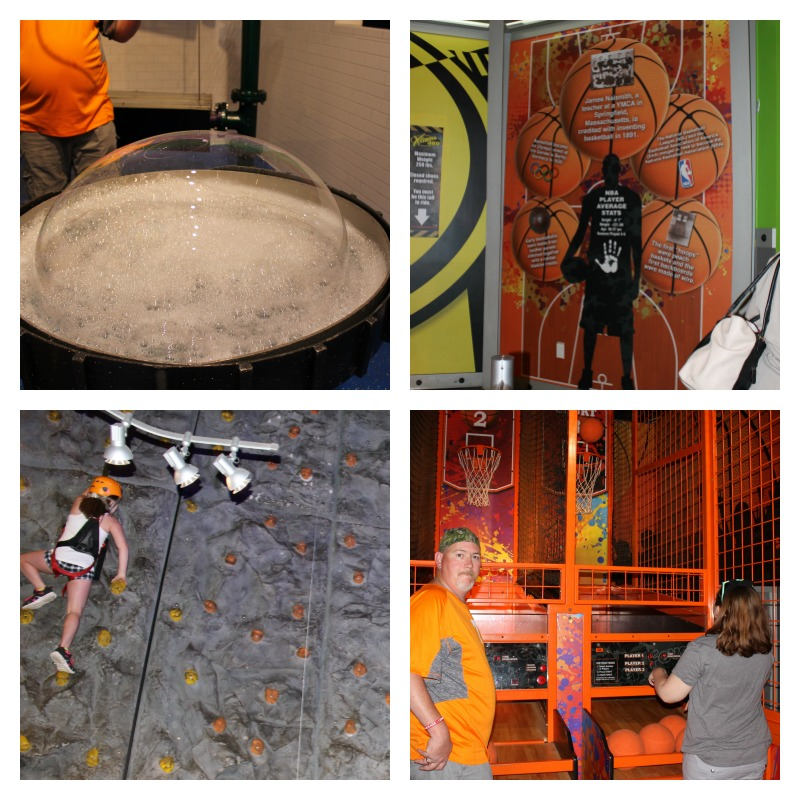 Physical Zone at WonderWorks Pigeon Forge