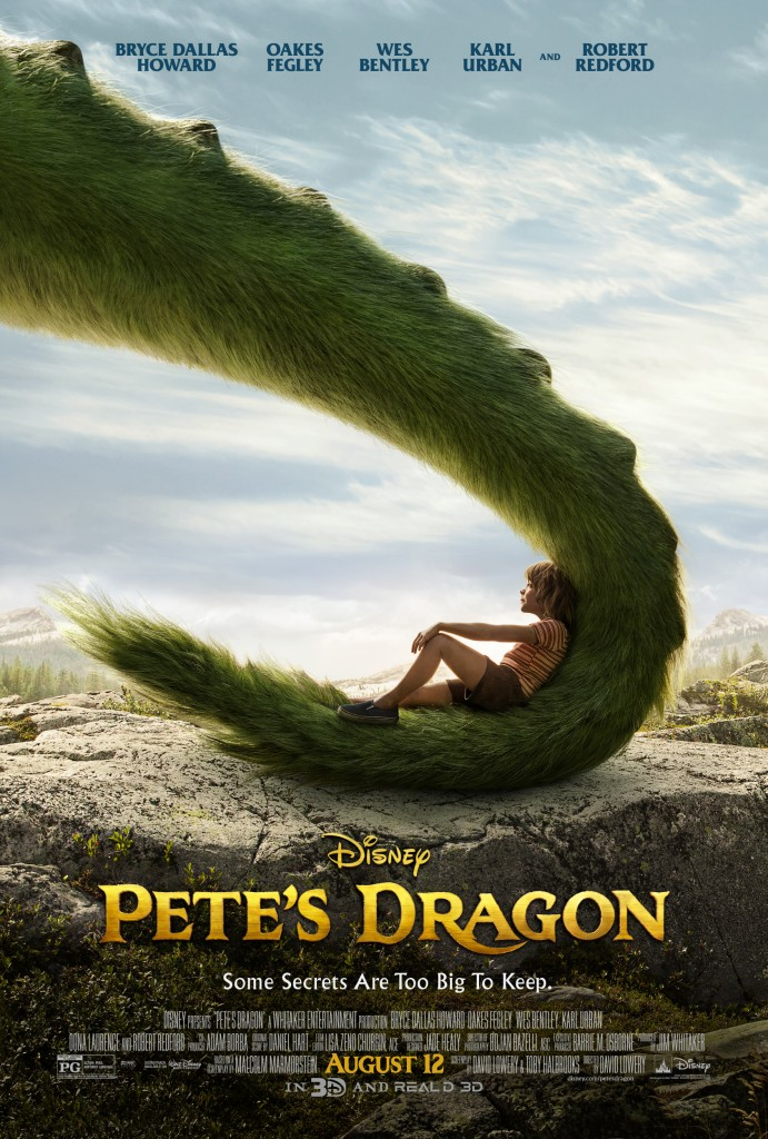 Pete's Dragon Movie Poster