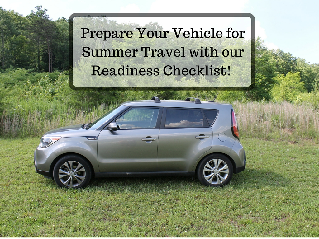 Prepare Your Vehicle for Summer Travel with our Readiness Checklist!