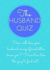 The Husband Quiz