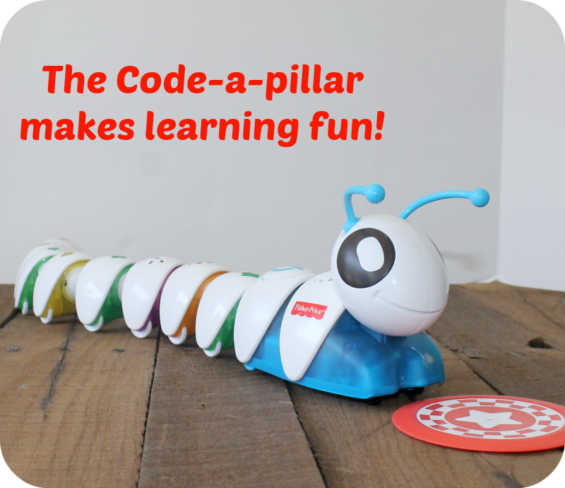 Codeapillar coding for toddlers