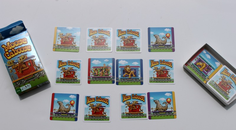 Moose Caboose Game Pieces