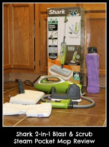 Shark 2-in-1 Blast & Scrub Steam Pocket Mop Review
