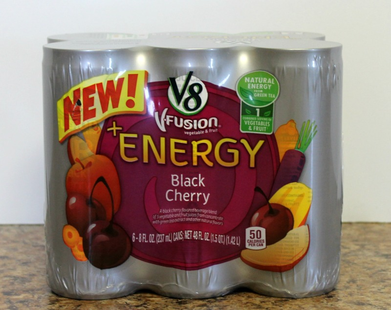 V8+Energy Black Cherry