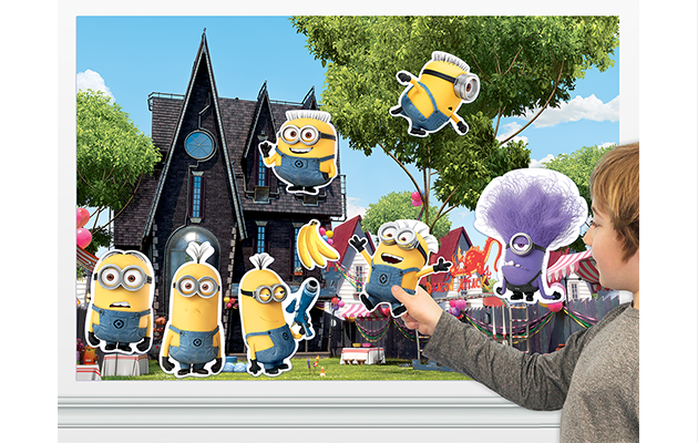 Minions Colorforms Playsets