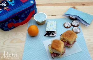 Ham & Pineapple Hawaiian Slider – 12 Days of Back to School Lunches