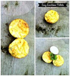 Mini Frittatas – 12 Days of Back to School Lunches