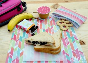 Sweetened Berry & Cream Cheese Sandwich – 12 Days of Back to School Lunches