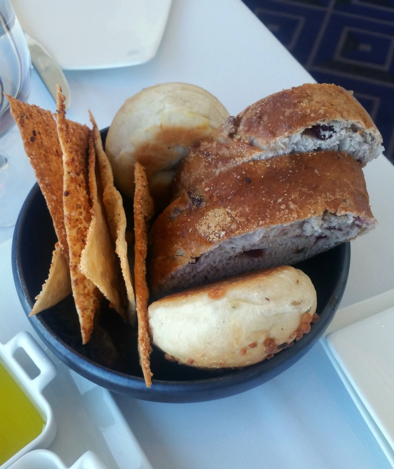 Bread Basket at Iridescence Restaurant