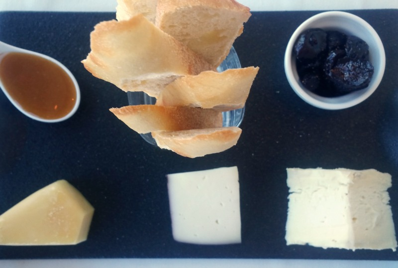 Cheese Platter at Iridescence Restuarant