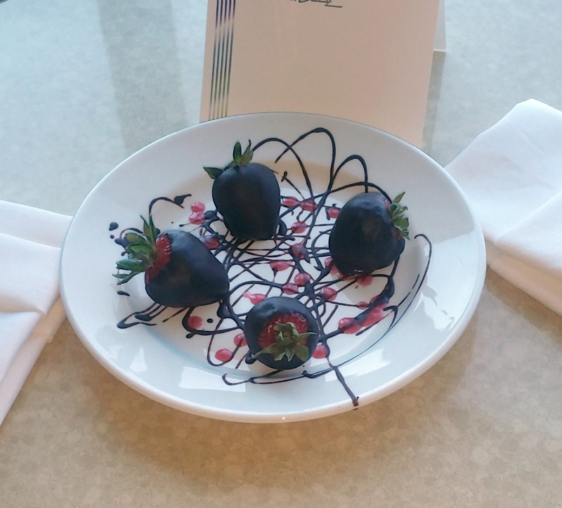Chocolate Covered Strawberries at MotorCity Casino Hotel
