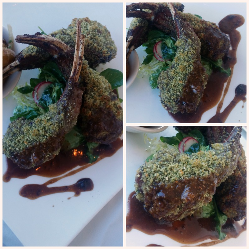 Lamb Chops at Iridescence Restaurant