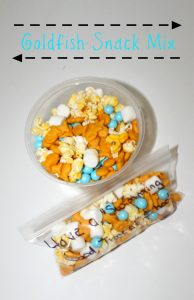 Simple Goldfish Snack Mix